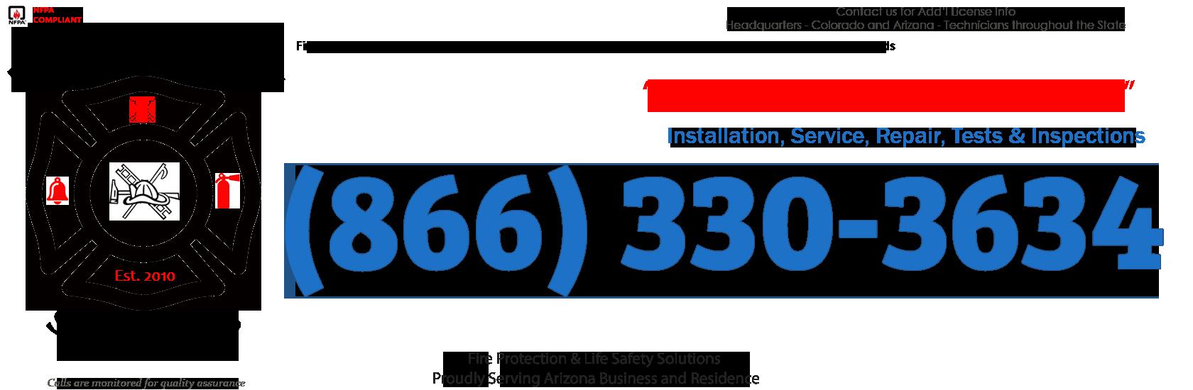 Flagstaff, Arizona Fire Sprinkler Service Company