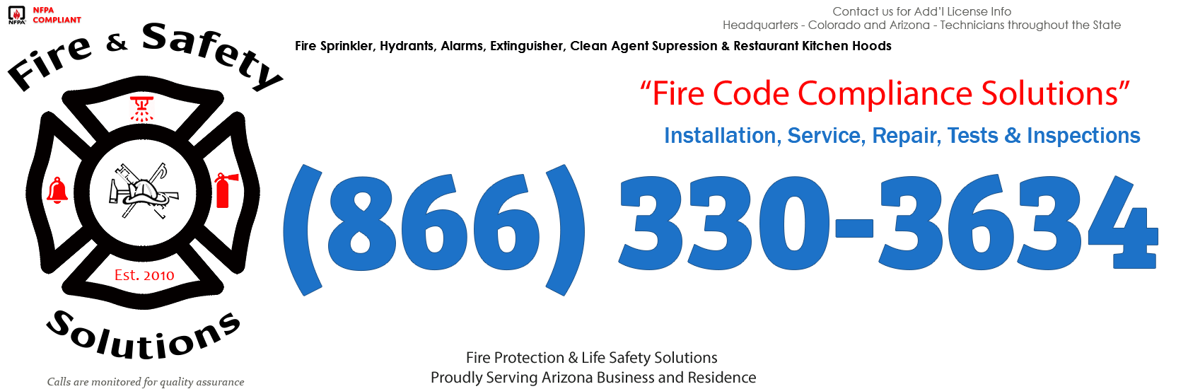 Tucson, Arizona Fire Sprinkler Service Company