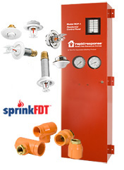 San Diego Tyco Residential Fire Protection Control Panel