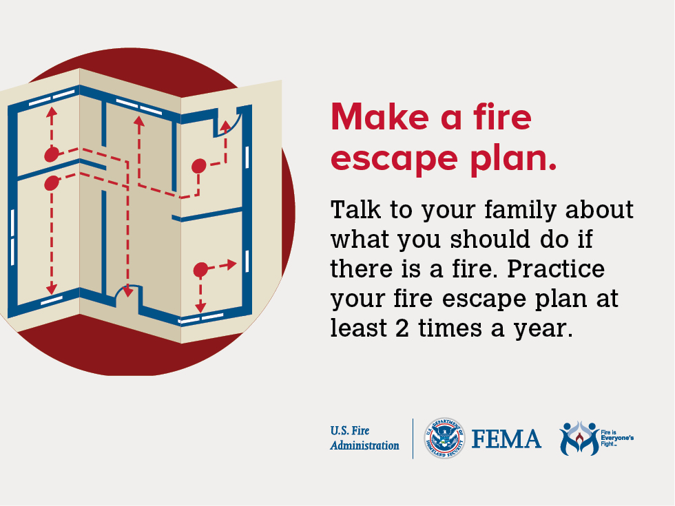 Plan for Emergencies Make a Fire Escape and Evacuation Plan, OSHA How to Plan